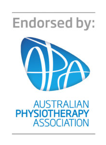 Endorsed by Australian Physiotherapy Association