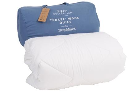 24/7: TENCEL® Wool Quilt